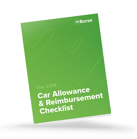 2019 car allowance and reimbursement checklist