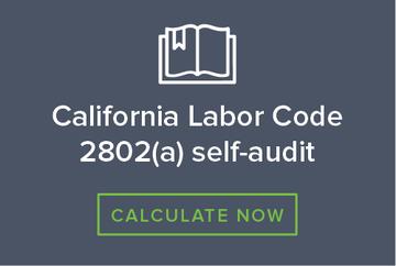 California labor code calculator