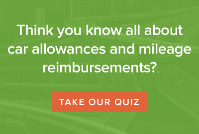 How much do you know about car allowances and mileage reimbursements? Take the quiz