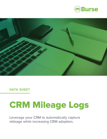 Track business mileage using your CRM