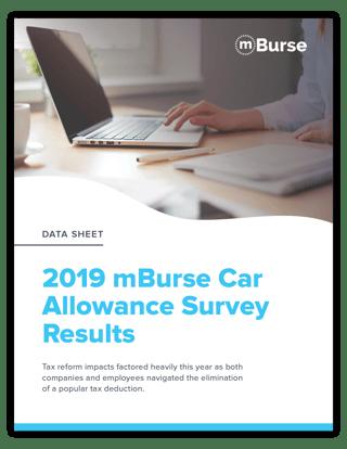 mBurse Car Allowance Survey 2019