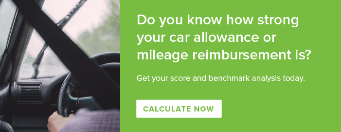 How strong is your car allowance or mileage reimbursement?