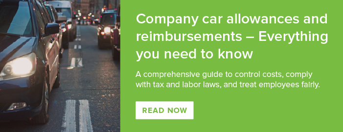 The ultimate guide to paying a car allowance or mileage reimbursement