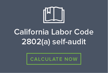 California labor code calculator