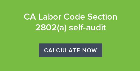CA Labor code CTA